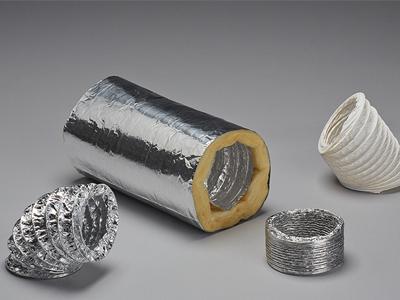 Flexible Schläuche, PVC-Schläuche, Laminatschläuche, Aluminiumlaminatschläuche, Aluflex Schläuche, akkustisch-isolierte Schläuche