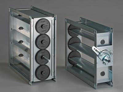 Jalousiekappen, Montage für höchste Anforderungen an Qualität und Dichtheit. Selbstbausätze in diversen Abmessungen. Lamellendichtung mit innen- oder außenliegenden Zahnrädern.